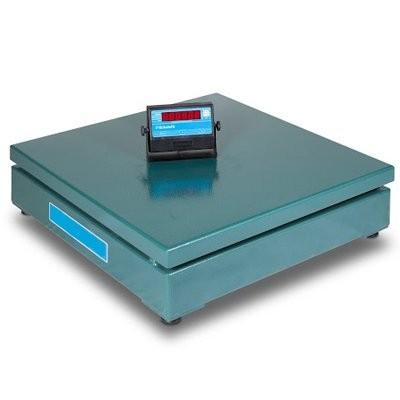 Balança eletrônica digital de plataforma 1500kg sem coluna